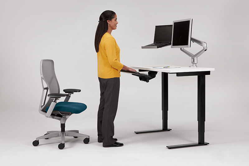 ... productive work environment. Less downtime because an employee is uncomfortable or has a work related injury such as carpal tunnel syndrome makes the ...